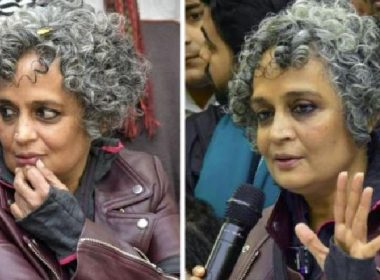 Writer Arundhati Roy gave a statement about the riots, FIR in 15 police stations of the state