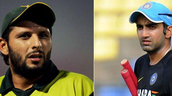 Afridi falls heavily from Gambhir, reminds all records