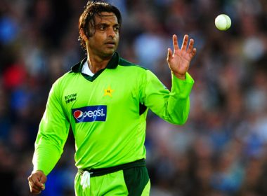 Shoaib Akhtar was caught on social media because of his cycle of tricks