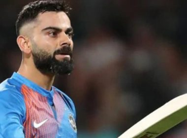 What is the last compulsion that Kohli has to auction his bat