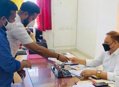 NSUI submitted a memorandum to the Vice Chancellors and said, give general promotion to college students too