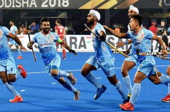 What happened is that the players of Hockey India had to stop their eyes