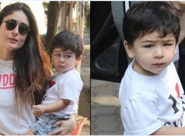 Kareena shares a cute picture of Taimur, don't know why fans started abusing