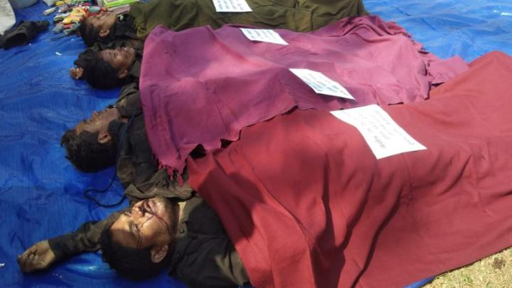 Police and Naxalite encounter in Manpur, police station in-charge martyr, 4 Maoists killed