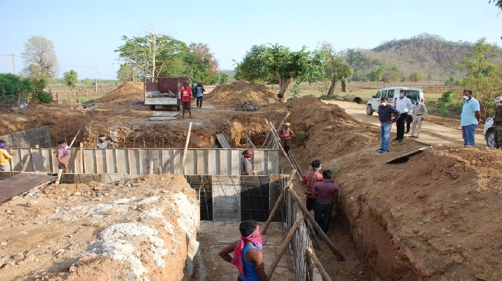 Construction of Pandaria-Bajag road started,