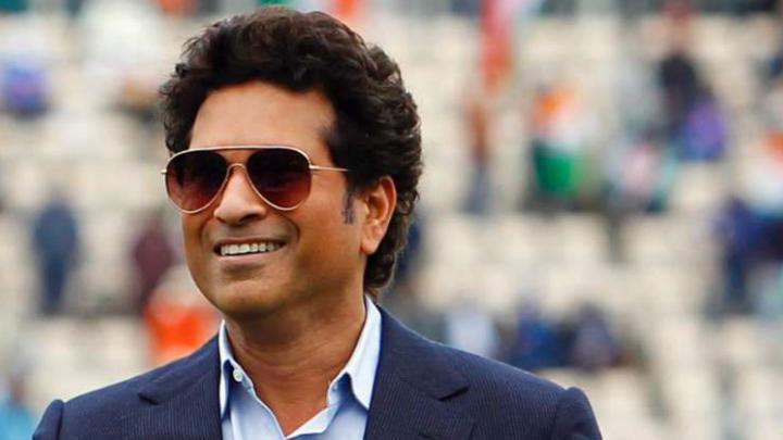 Did you see this video of Sachin? How did the great batsman do it with closed eyes