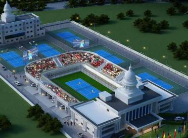 CM gives gift: 17 million international tennis stadium to be built in Raipur