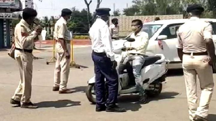 DGP order prohibits driving of vehicles